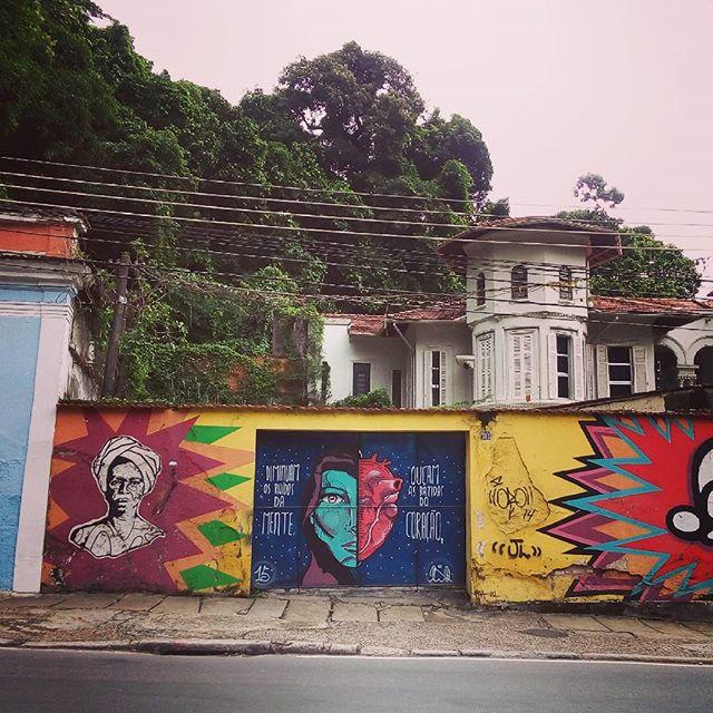 By @pedrongomes and... Rio de Janeiro. 13/03/2016 l vandalogy #StreetArtRio #streetart #riodejaneiro #cosmevelho #pedrongomes #graffiti #mian