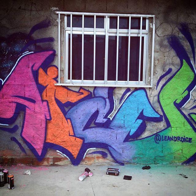 Collors #collors #lettering #letters #graffiti #streetarteverywhere #StreetArtRio #leandroice