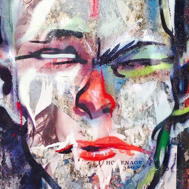 Feliz dia do Grafite! Com direito a dura... #meton #metton #streetartrio #diadografite #hanna #streetart #face