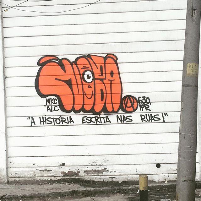 O graffiti e sua essência !!! #pandronobã #artistasurbanoscrew #ahistoriaescritanasruas #streetartrio #ilovegraffiti #rjvandal #graffiti #streetart #bomb #tagsandthrows #throwup #bombing #graffiticarioca #avenidabrasil #streetwriters #writers #arteurbana #artederua 2016