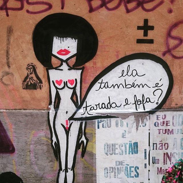 Rio de Janeiro graffiti - study 6 of 6 #riodejaneiro #brazil #southamerica #graffiti #urban #colour #creative #streetartrio #streetart #santateresa #latergram #sarambles #instatravel