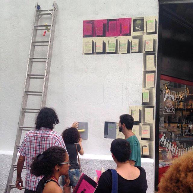 Tá rolando! Foto por @predothome #paginario #botafogo #streetartrio
