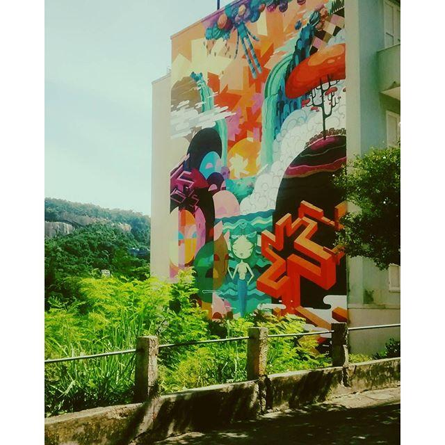 Urban Art! #RJ #SantaTeresa #DiasDeBarros #grafitti #GrafiteRJ #streetart #StreetArtRio #Art #ArteUrbana #Cariocando #BoaDoRio #OficialRio #AboutRio #RotinaCarioca #Rio4Gringos #ORioNãoÉSóPraia #BoaNoite