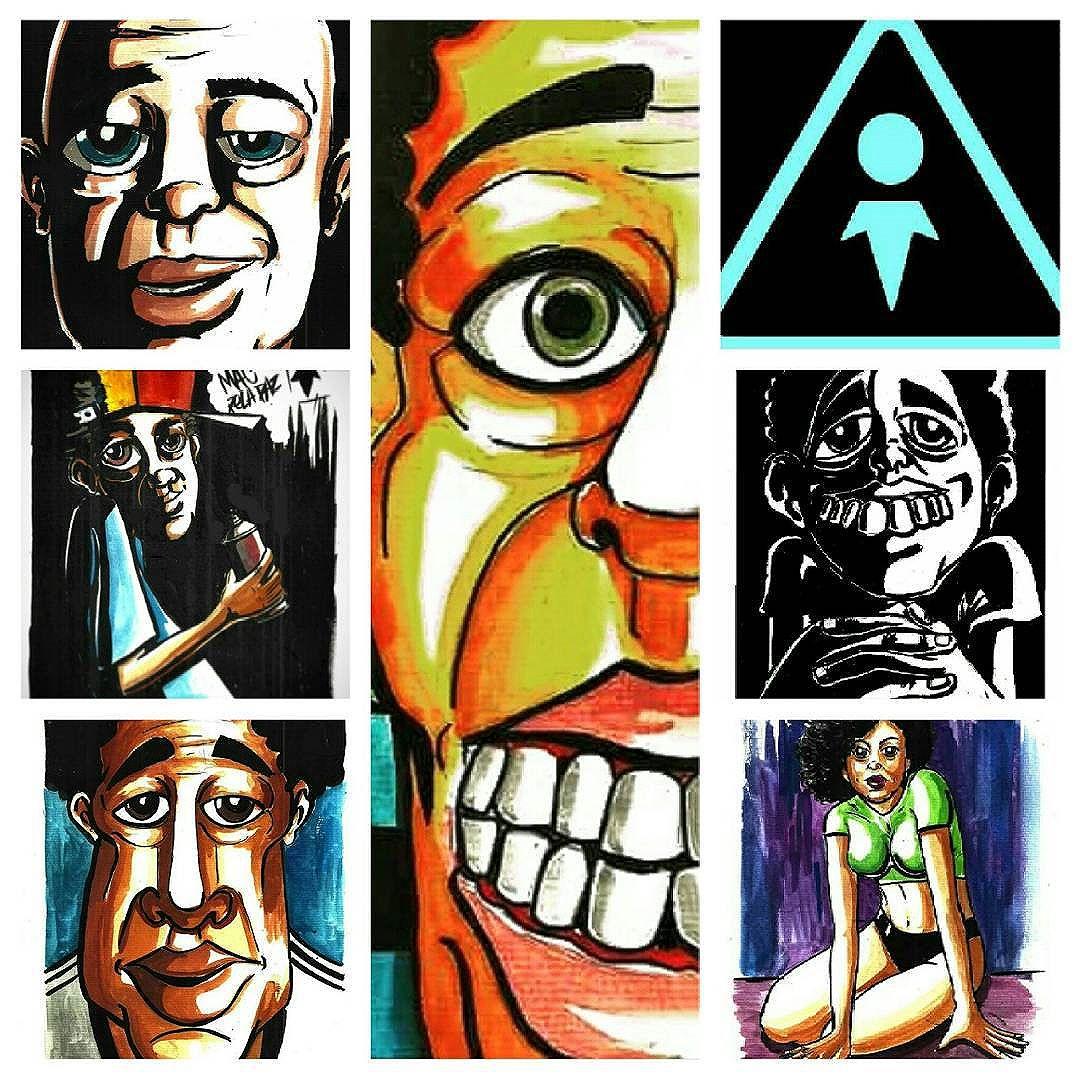 Ant almas crew #grafitti #arte #artworks #ilustration #blackbook #ilustrações #hiphop #grafittiworld #mtn #colorginarteurbana #antalmascrew #personagens #artsforlife #streetartrio #streetart