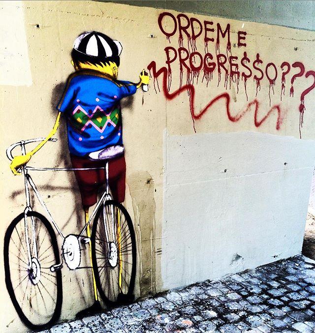 #brasil #brazil #brésil #grafitti #riodejaneiro #streetart #streetartrio #errejota #realtime #viaduto #lagoa #street