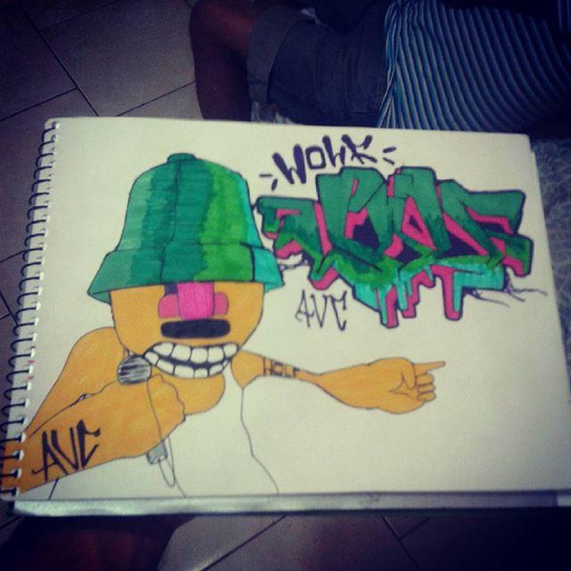 #calvinwolf #wolf #vandal #graffiti #instagrafite #streetartrio #AVCrew #wildstyle Batalha de improviso ganha aquele que tem levada !