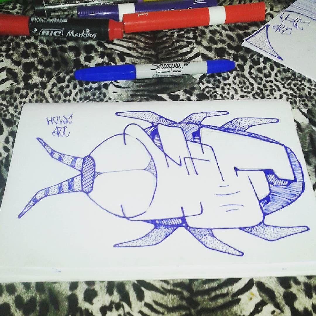 #calvinwolf  #wolf  #vandal  #letter  #graffiti  #instagrafite  #streetartrio  #AVCrew  Mata a barata !!!