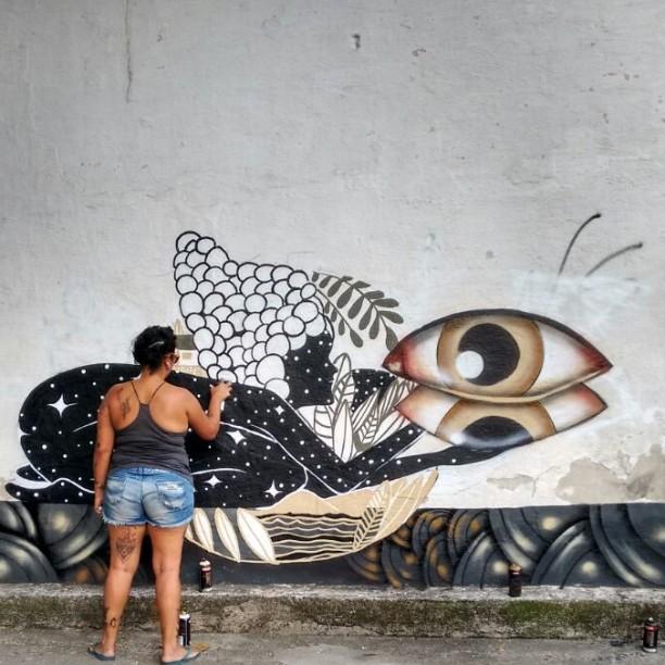 #graffitart #streetartrio #camilacamiz #grafiteiras #apstelling #conexãonikitirj #nikiti #respeitaasminas