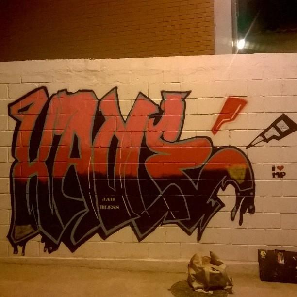Rolé de hoje #graffiti #Street #streetart #streetartrio #spray #urbanart #thiagohaule #coletivoilovemp #rj #brasil