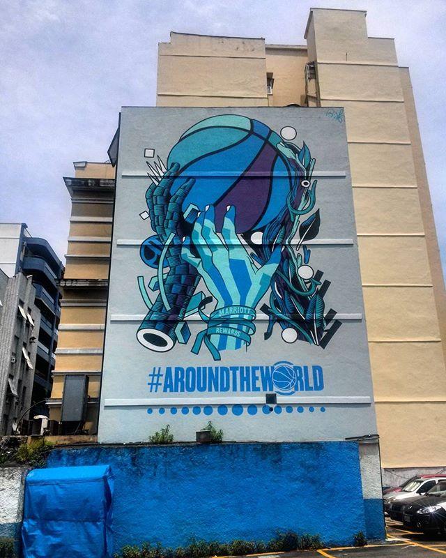 #StreetArtRio  Grafite num estacionamento na Rua do Catete perto do Largo do Machado.  Artistas: @bicicletasemfreio (Bicicleta Sem Freio)  Tirada em 09/01/2016
