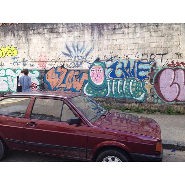 #streetartrio #zanelicious #spray #graffitiart #organic #caterpillar #graffiti #riodejaneiro #graffiti