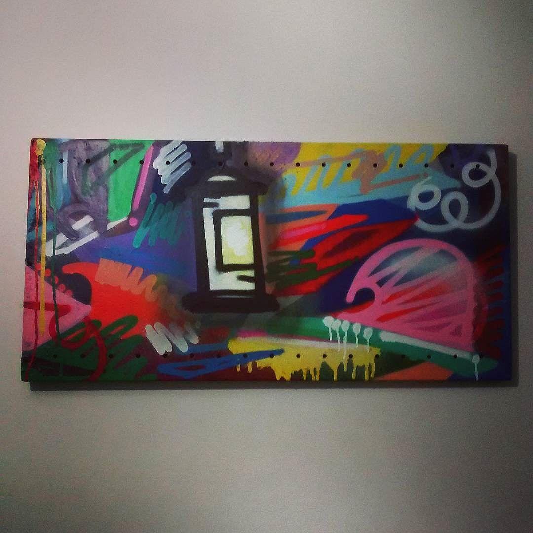 Tela. Chuva de cores.  #arte #art #graffiti #graffitiarte #streetart #streetartrio #instagraffiti #instatela #tela #sprayart #spray #love #jotaceessi #jcs
