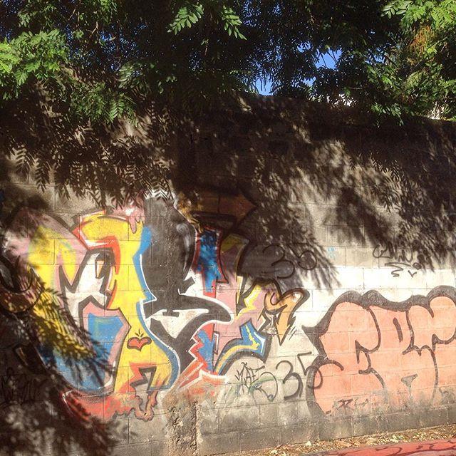 A little shadowy but... #graffiti #grafporn #streetart #streetartrio #streetartglobe #urbanart #spraydaily #muralsdaily #largodomachado #riodejaneiro #brazil