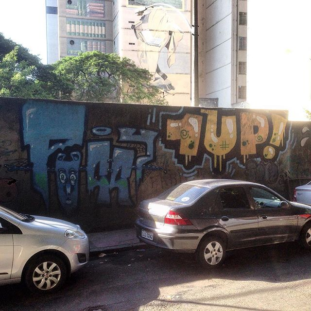 Art done by @1up_crew_official #graffiti #grafporn #streetart #streetartrio #streetartglobe #urbanart #spraydaily #muralsdaily #largodomachado #riodejaneiro #brazil