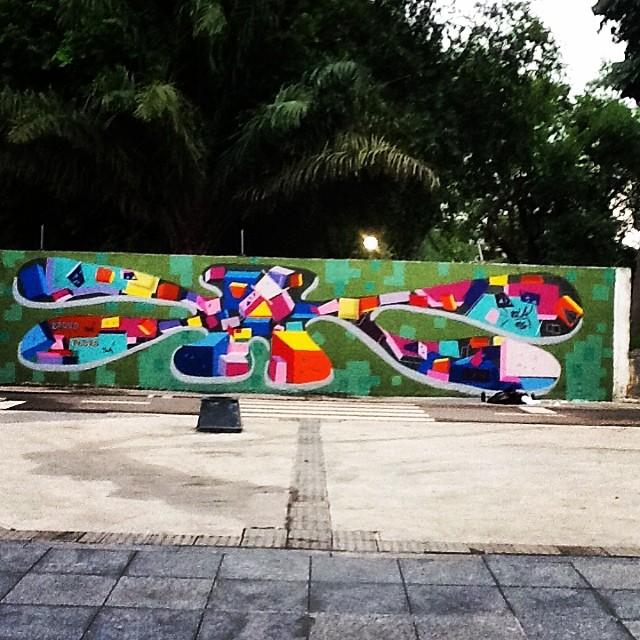 Em Construção.... Maracanã,RJ #instaart #spray #riodejaneiro #rj #instagraffiti #graffiti #graffite #artederua #art #artist #urbanart #graffitibrazil #graffitebrazil #loveart #spraypaint #streetart #freestyle #graffitirj #graffrio #rua #mtn #hiphop #streetartrio #ruasdazn #tafaltandomuro