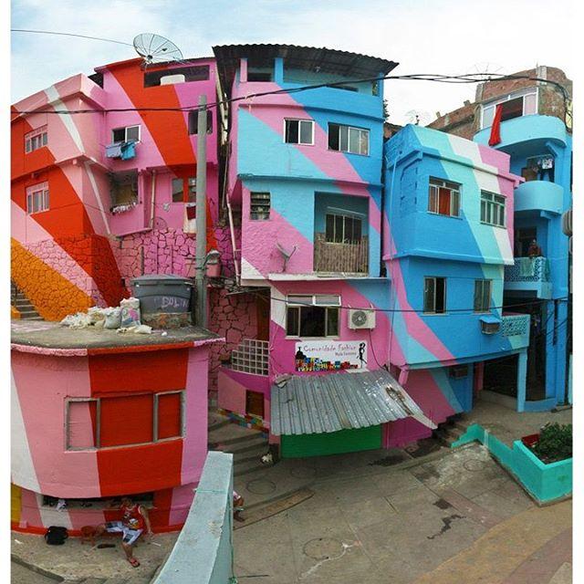 Favela Painting Project by @haasandhahn Vila Cruzeiro, Rio De Janiero. #riodejaneiro #favela #favelaoriginals #streetphotography #streetart #streetartrio #haasandhahn #vilacruzeiro #favelapainting #saopaulo #surfing #skateboarding #urbanart #rio #londonstreetart #graffiti #mensfashion #beach #peace #reggae #goodvibes #casualclothing #casuals #ultras #surfbrasil #osgemeos #brazil #brasil #adidasoriginals #copacabana