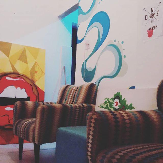 Home Office - Rios de águas vivas quase pronto. #istazise #instagood #instasize #grafitti #grafitti #streetart #streetartrio #design #color #paint #designinterior #sketch #rio #riodejaneiro #padremiguel #brazil #dnz #felipediniz