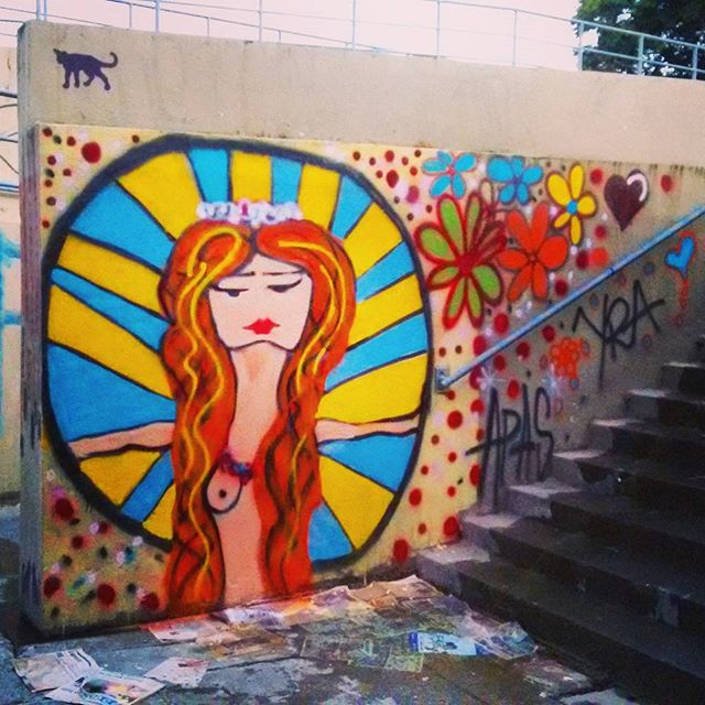 Iluminai! #botafogo #feminino #praiadebotafogo #streetartrio #streetart #urbanart #rj #rio450anos #riodejaneiro