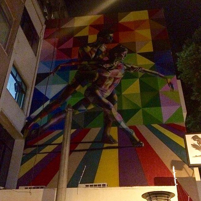 Novidade pelo caminho... #KobraStreetArt #Kobra #ArteDeRua #StreetArt #Tijuca #RJ #RioDeJaneiro #InstaGrafite #InstaGrafitti #PetiteDanse #StreetArtRio