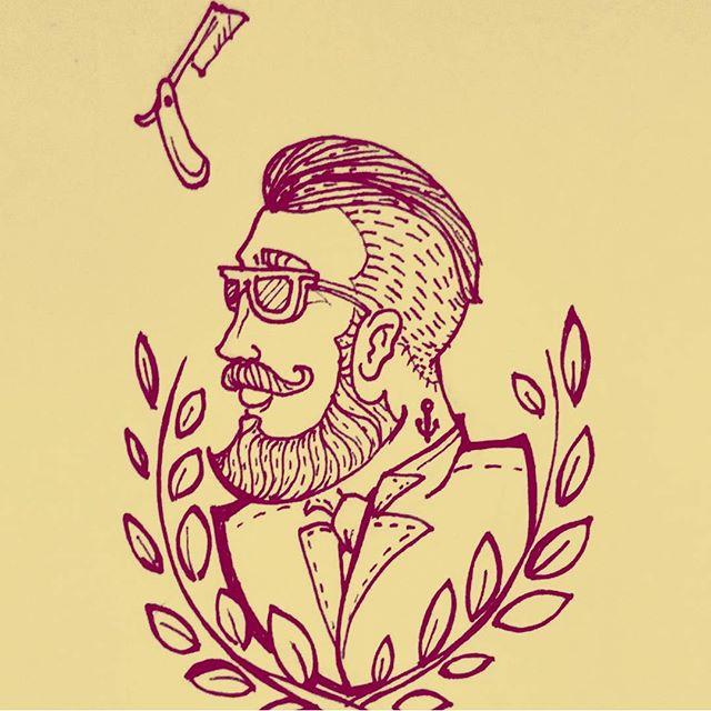Vai ter novidade na área sim II #esos #barbershop #black #rj #br #streetart #artlovers #urbanart #sketch #sketchbook #graffiti #graffitiart #paint #drawing #ink #grafite #illustration #ilustração #artgallery #art #artoftheday #sketchoftheday #arte #skateart #skatestyle #beardman #paint #line #staedtler #beard #streetartrio