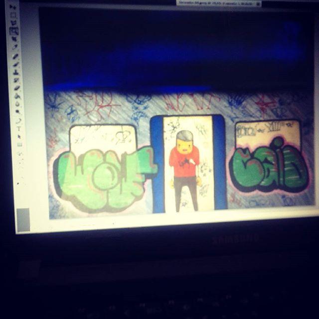 #calvinwolf #wolf #ilustração #pinturadigital #GRAFFITI #instagrafite #streetartrio #AVCrew #xarpi