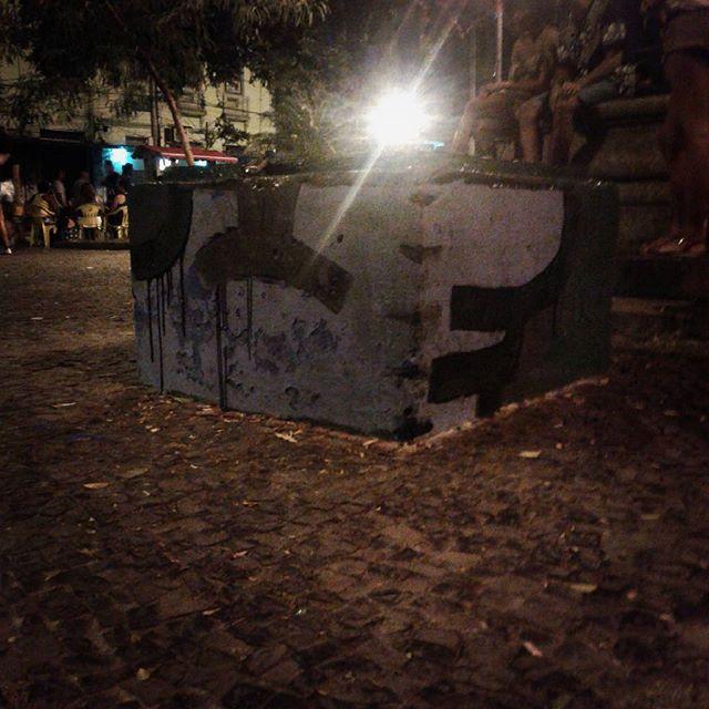 #calvinwolf #wolf #vandal #letter #graffiti #instagrafite #streetartrio #AVCrew Resistência cultural!