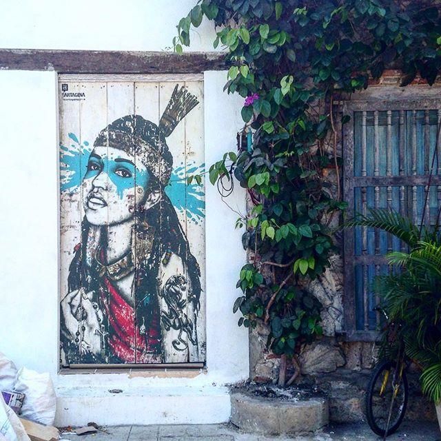 #cartagena ️ #getsemani #streetart #instastreet #urbanstyle #street #graffiti #spraypaint #streetartrio #urbanart