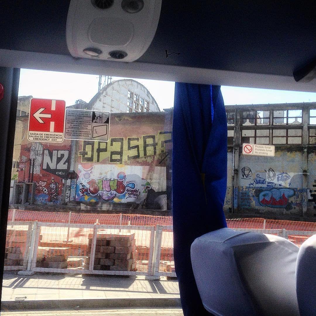 Inside&outside the bus #graffiti #grafporn #streetart #streetartrio #streetartglobe #urbanart #spraydaily #muralsdaily #riodejaneiro #Brazil