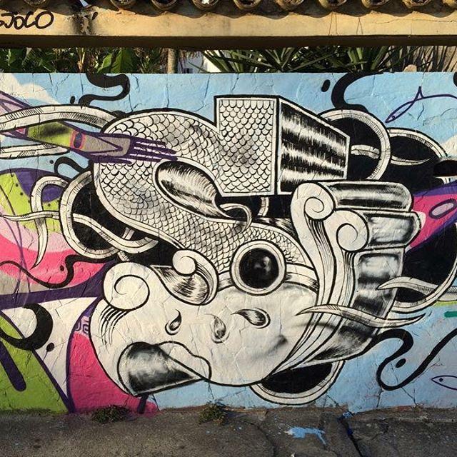 Signature 'S' painted in Praia da Barra, Rio de Janeiro, Brazil together with @jotapepax back in 2015 #sjocosjon #praiadabarra #riodejaneiro #brazil #amsterdam #jotape #streetartbrazil #streetartrio #art #painting #graffiti #graffitiart