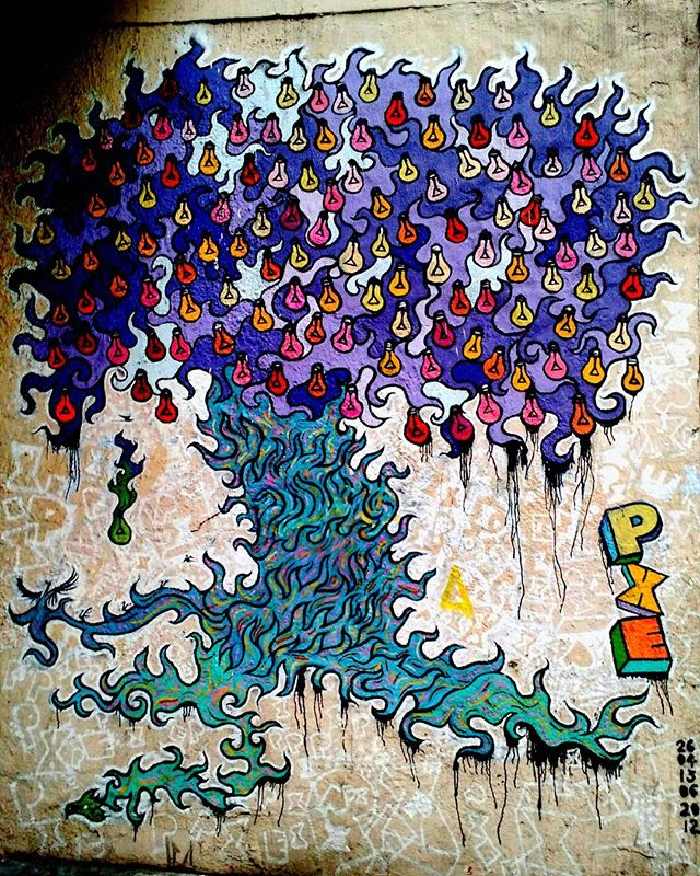 Artist: @marciopxe #streetart #StreetArtRio #PXE #grafitti #grafite #instagrafite #urbanart #arteurbana #RiodeJaneiro #errejota #cariocagram
