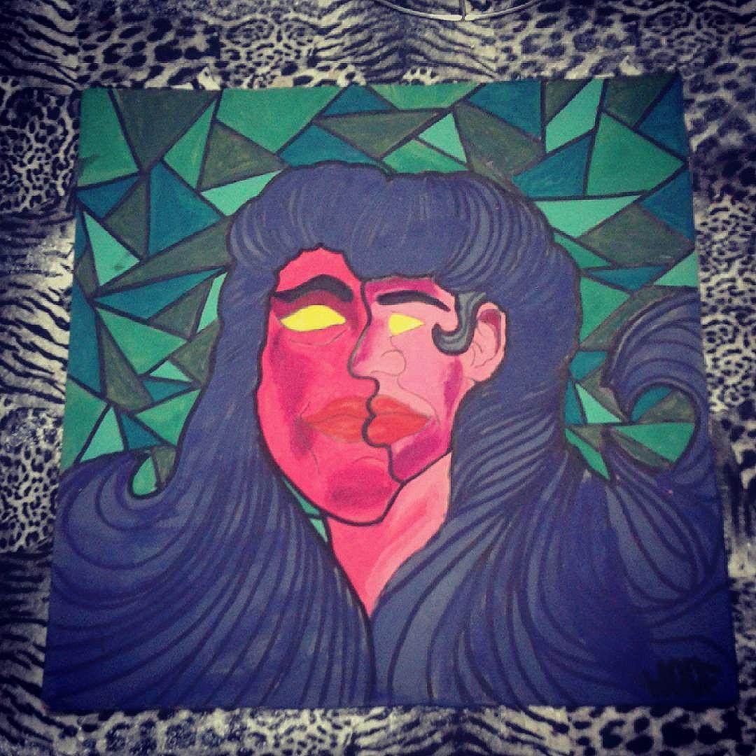 #calvinwolf  #wolf  #ilustração  #pintura  #graffiti  #instagrafite  #streetartrio  #AVCrew  #cubismo