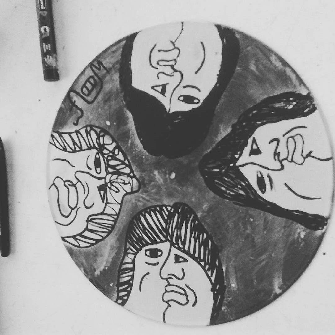 #calvinwolf  #wolf  #ilustração  #pintura  #persona  #graffiti  #instagrafite  #streetartrio  #AVCrew  #cubismo