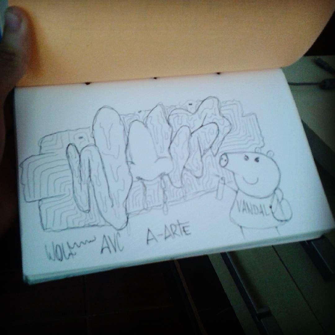#calvinwolf  #wolf  #vandal  #letter  #graffiti  #instagrafite  #streetartrio  #AVCrew  #antistyle  #A-arte  Peppa pig !