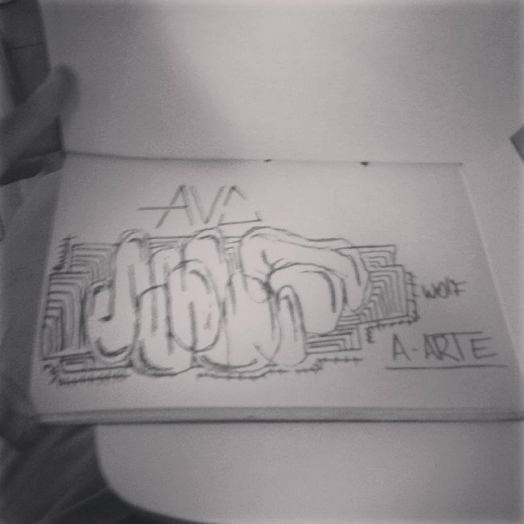 #calvinwolf  #wolf  #vandal  #letter  #graffiti  #instagrafite  #streetartrio  #AVCrew #antistyle  #A-arte