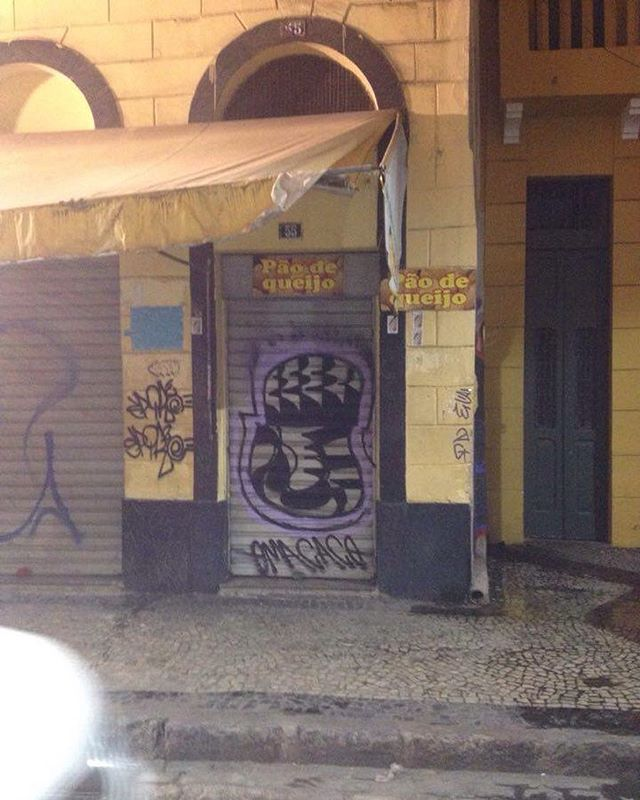 Fast... #paint #graffiti #graffitiart #vandal #vandalrj #streetart #streetartrio #omacaco #graff #rio #vapt_vupt