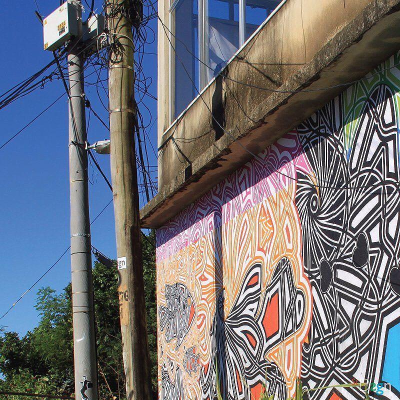 Graphic Sea. By StDsgn.  Vidigal . Rio de Janeiro . May 2016 . Thanks Jorge . Street Art Rio WebSite : stdsgn.fr Galerie Studio 411  #StDsgn #streetdesign #streetart #Placement #vandal #collage #pasteup #stdsgn #urban #graffiti #EphemeralArt #GraphicSea #sea #fish #mar #peixe #streetartlondon #streetartporn #streetartnyc #london #streetartparis #rio #riodejaneiro #streetartriodejaneiro #streetartrio #artderua #brasil #lambe #Colagem #vidigal