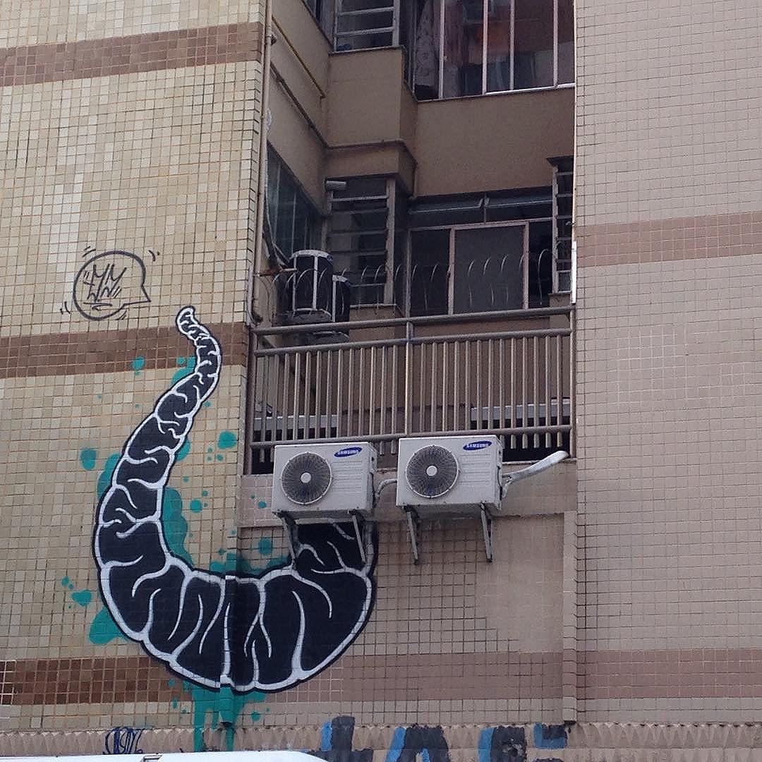 #ipanema #graffiti #riodejaneiro #streetart #streetartrio