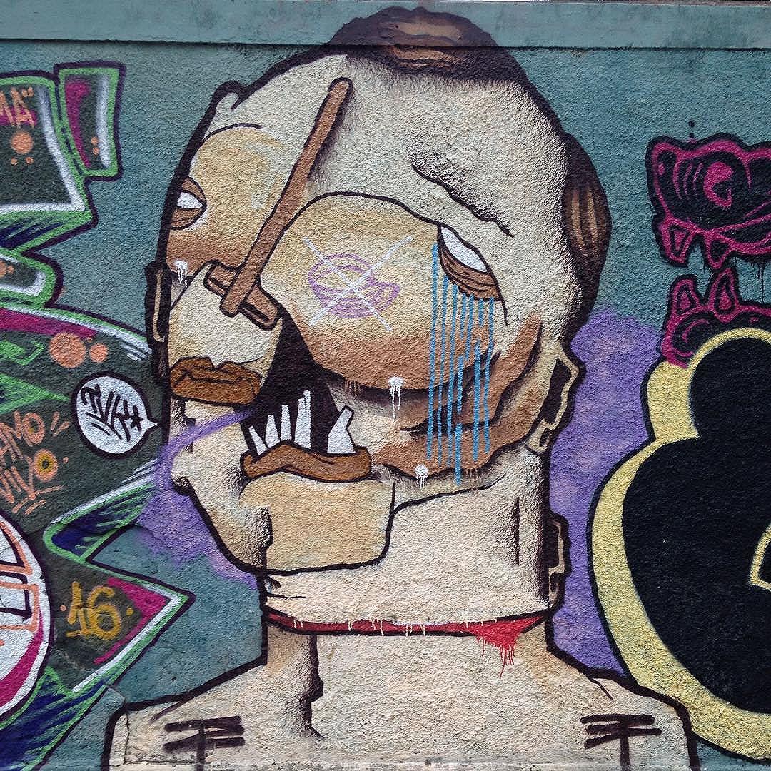 #ipanema #graffiti #riodejaneiro #streetartrio #streetart Who is the artist ?
