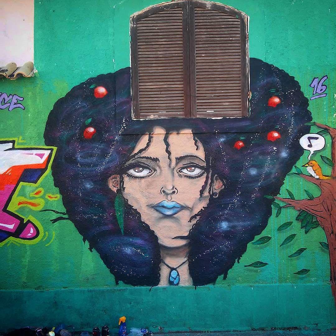 Mãe natureza  #graffiti #nature #art #StreetArtRio #leandroice #coresemacao