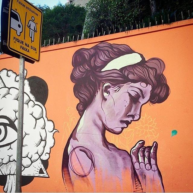 Menos ódio e mais cor por favor! • foto: @kirproject • #PNGone #graffiti #instagrafite #streetartrio