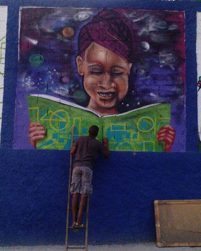 Olha nós aí #globalstreetart #graffitiart #graffite #streetartrio