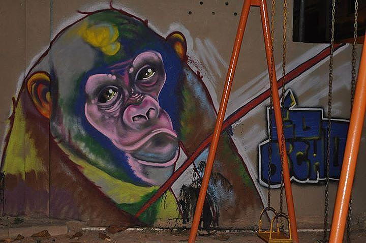 Olha nós aí #graffitiart #graffite #instagraffiti #globalstreetart #streetartrio