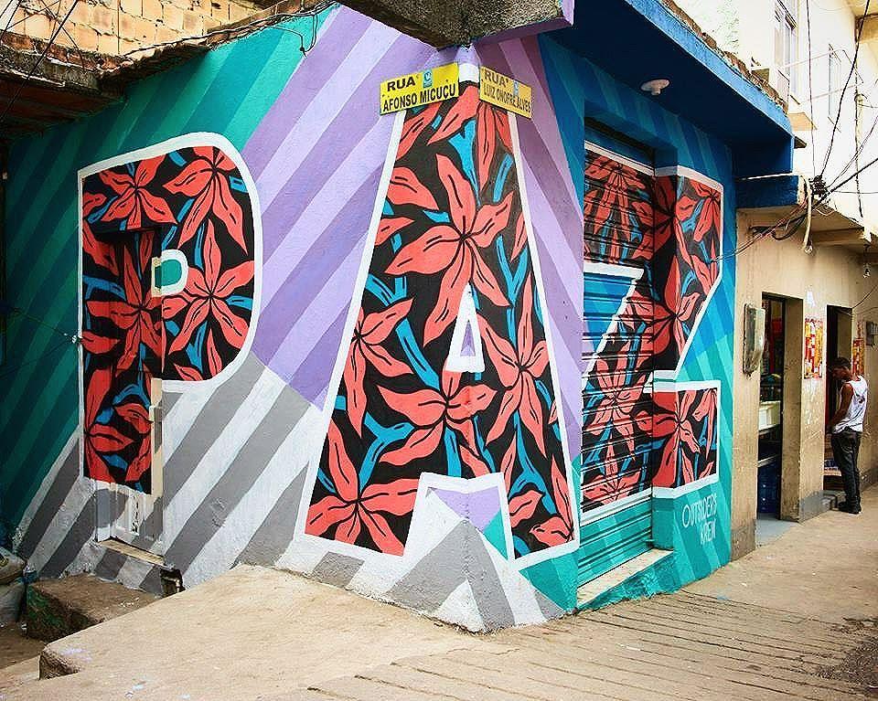 """ Paz "" (Peace) #ShareTheWordProject #Rio #Paz #Peace #Paix -- #ComunidadeSantoAmaro #Graffiti #Art #StreetArt #StreetArtRio #GraffitiRio #Favela #slum #morrodosantoamaro"