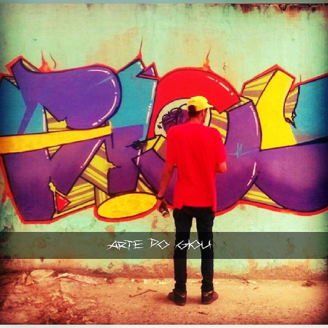 Pow pow pow!! #artedogiou #tipografia #Letters #loveletters #writer #graffitti #streetartrio #streetartmanifesto #draw #Instadraw #instagraffiti #instaphoto #photographer #photoedited #RJ