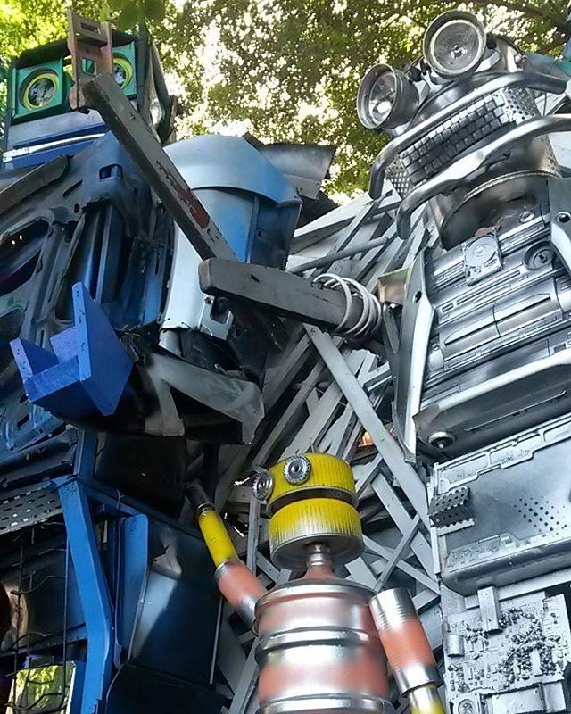 Projeto de reciclagem do Wilson Alexandre. #streetartrio