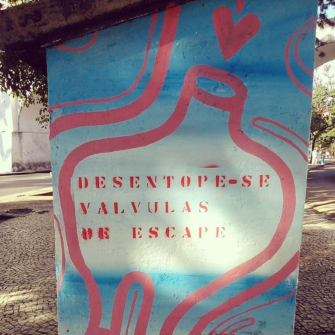 quero. #streetartrio #stencil