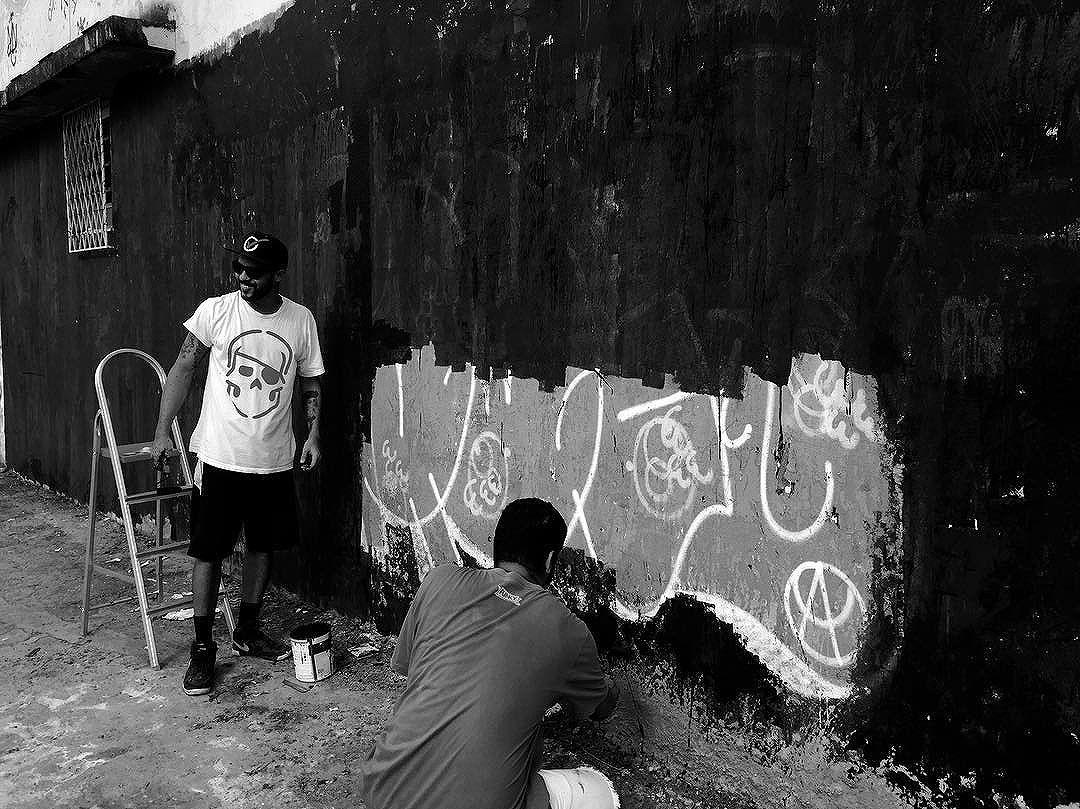 Renovar .... #ruasdazn #artistasurbanoscrew #pandronobã #streetartrio 2016