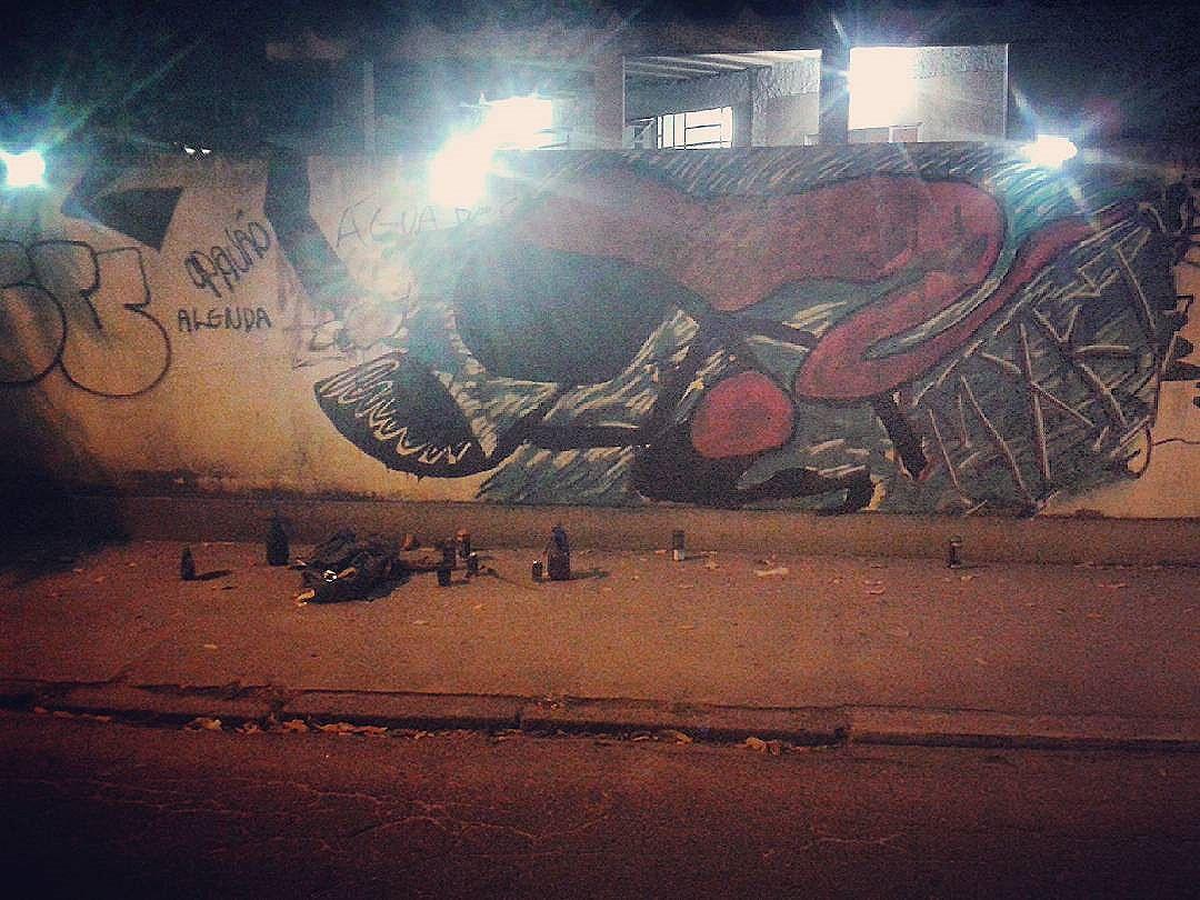 #sacidalizando  #saci #sacizão #streetartrio #streetartriodejaneiro  #instagraffiti  #instagrafite #? #mxkt  Nao me atropela  não ,vacilão