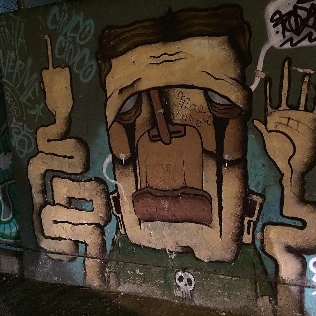#streetart #streetartrio #streetartriodejaneiro #botafogo #graffiti #brasil
