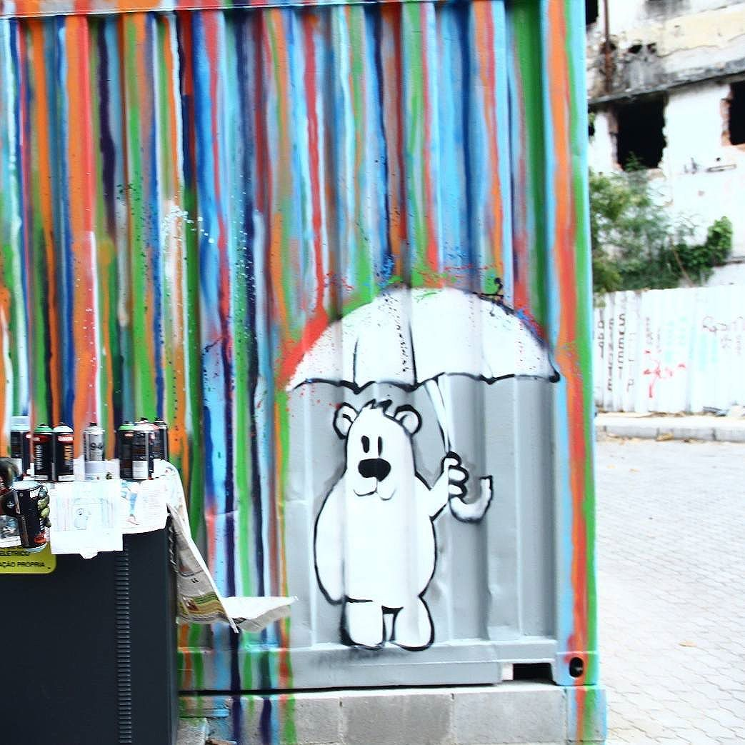 #streetartrio  Dopy